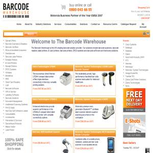 Barcode Label Printers from The Barcode Warehouse UK