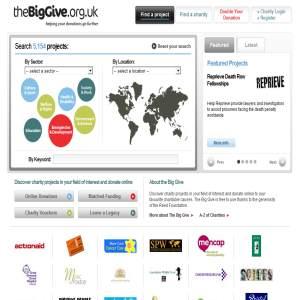 Charities - Big Give