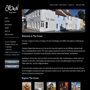 The Crown Hotel & Restaurant in Woodbridge