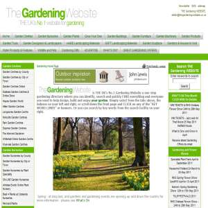The Gardening Website