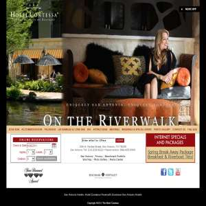 San Antonio Hotels: Hotel Contessa Suites on the Riverwalk Downtown