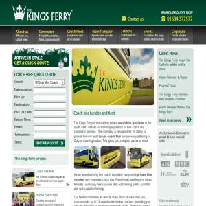The Kings Ferry - Coach Hire Services