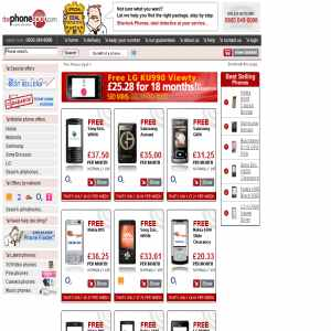 Deals on mobile phones
