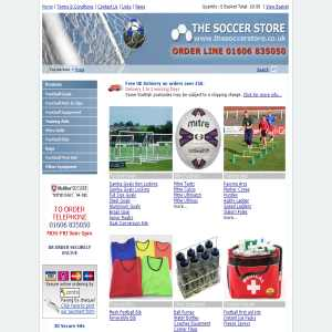 The Soccer Store: Football Equipment and Goals