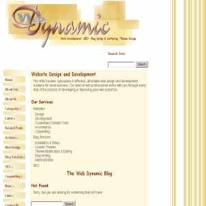 The Web Dynamic