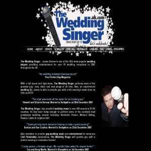 Wedding music by The Wedding Singer & DJ