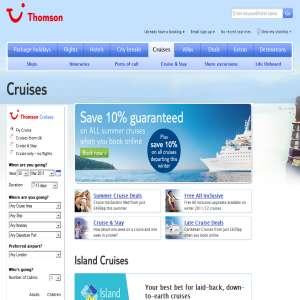Island Cruises - Thomson
