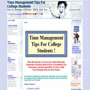 Time Management Tips For College Students