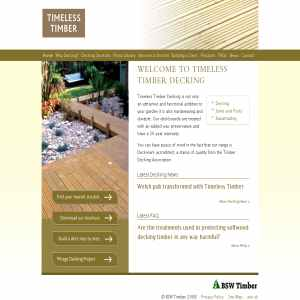 Decking - Timeless Timber