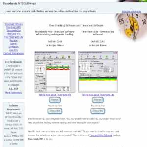 Timesheets Software