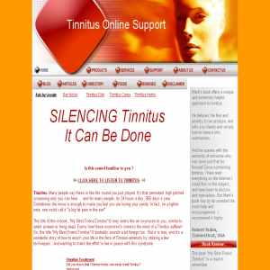 Tinnitus Online Support | Cause Of, Treatment & Relief