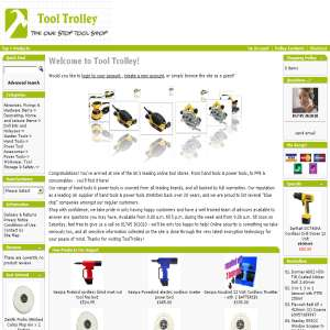 Tools - Tool Trolley