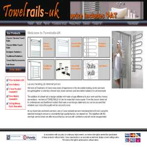 Towelrails-UK - Designer Radiators & Towel Rail Accessories
