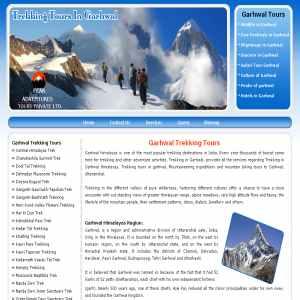 Trekking in Garhwal