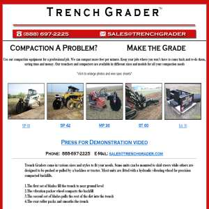 Trencher Attachments