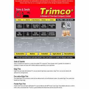 Trimco-Plastic Extrusions