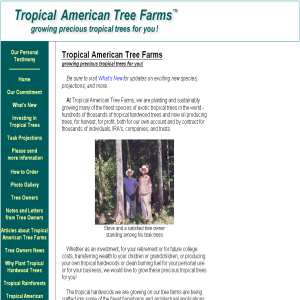 Tropical American Tree Farms