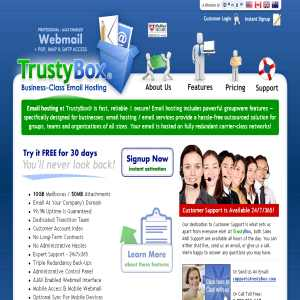 TrustyBox Business EMail Hosting