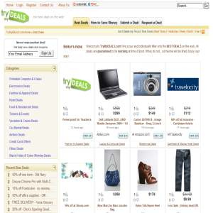 Deals - TryMyDEALS