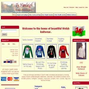 Ty Hanleigh Knitwear. Sweaters from Wales.