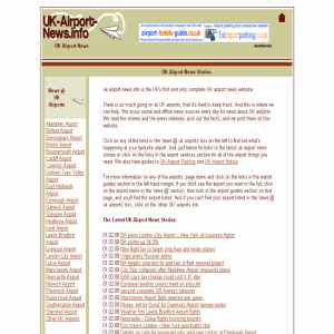 UK Airport News