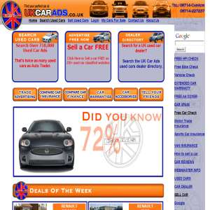 Buy, Sell a used car FREE at UK Car Ads
