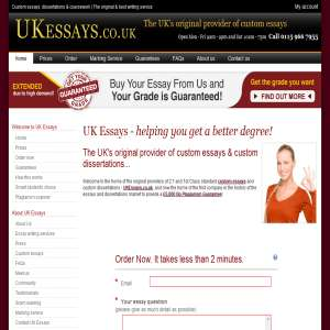 We provide top-quality custom essay help for UK students