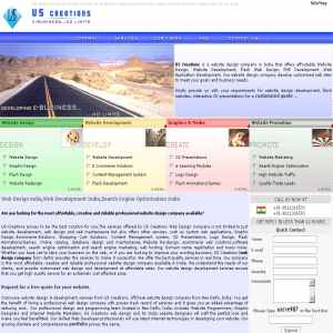Web site design company New Delhi India