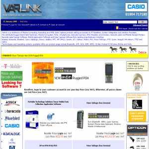 Mobile Computing PDA Bar Code RFID Data Capture Products