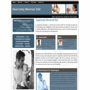 Vasectomy Reversal USA
