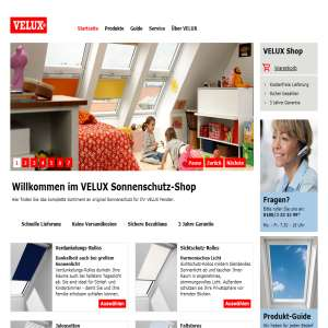 Velux Blinds - German webshop
