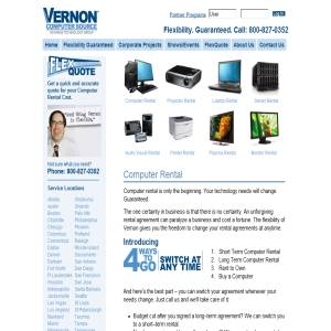 Computer Rental - Vernon Computer Source