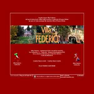 Villa Federici - Agriturism Marche Italy