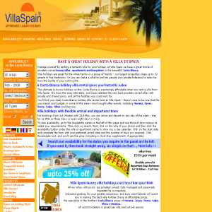 Affordable, luxury villa holidays from VillaSpain