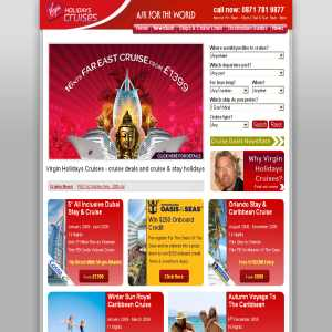 Virgin Holidays Cruises - Cruise Holidays