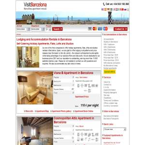 Barcelona Apartments - Self Catering Lodging