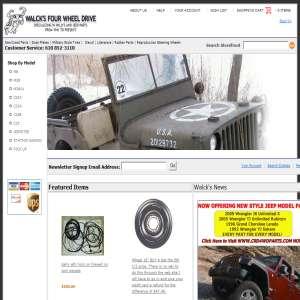 Willys Jeep Parts - Walcks 4WD