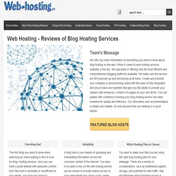 Free Blog Hosting