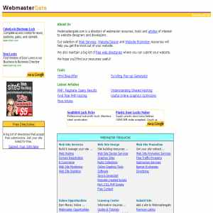 Webmaster Resources and Articles