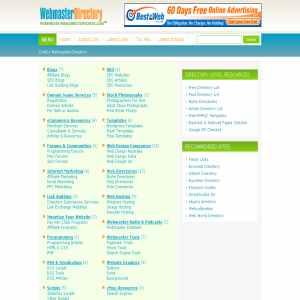 Critics Webmasters Directory
