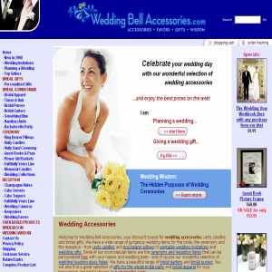 Wedding Bell Accessories