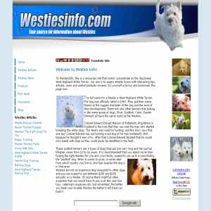West Highland White Terrier Info