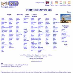 Willgoto.com | World travel directory