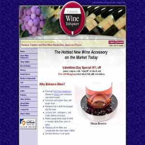 Catania Wine Enhancer & Accessories