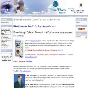 Dog Cataract Eye Drops