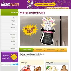 Buy Unique Invitations Online