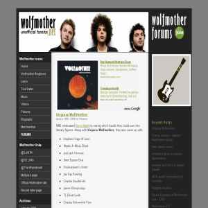Wolfmother Fansite
