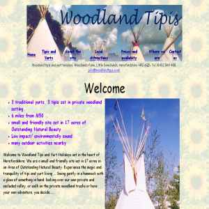 Tipi & Yurt Camping Holiday