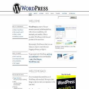 WordPress | Free Blog Tool and Weblog Platform