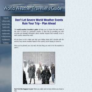 World Weather Travellers Guide